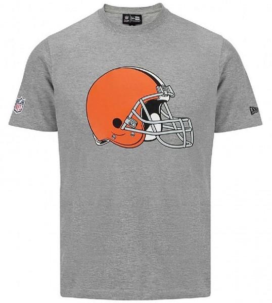 New Era - NFL Team Logo Cleveland Browns T-Shirt - grey