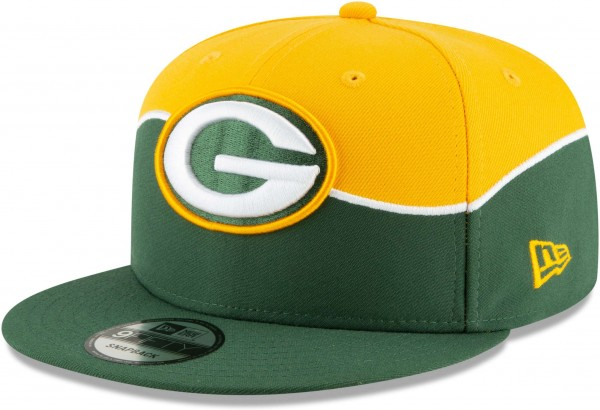 New Era - NFL Green Bay Packers Draft 2019 On-Stage 9Fifty Snapback Cap - Grün