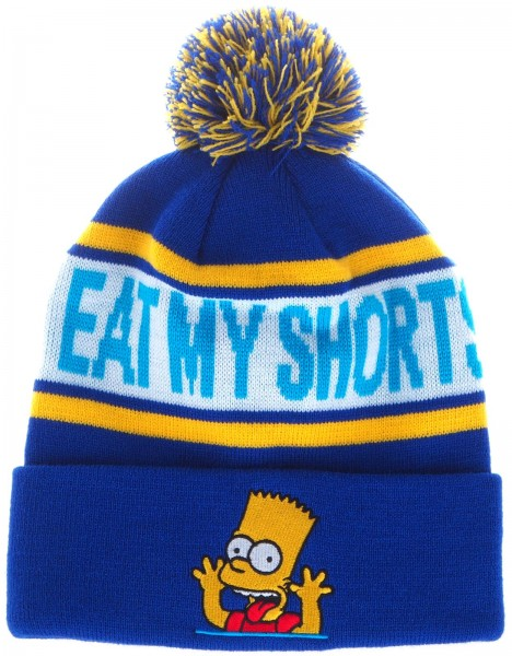 The Simpsons - Bart - Eat My Shorts Bobble Kids - Beanie