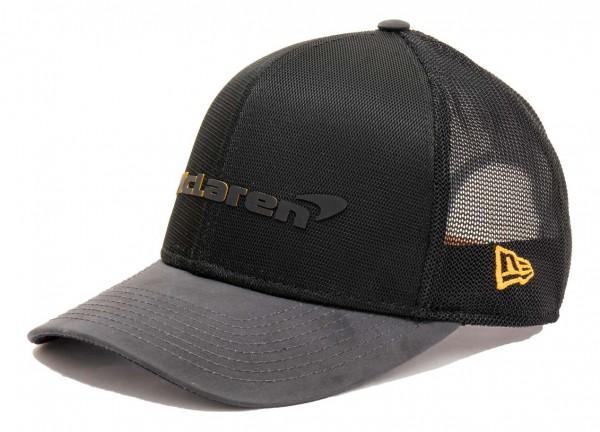 New Era - McLaren Spoecial Edition Singapore 9Fifty Stretch Snapback Cap - Schwarz Ansicht vorne schräg rechts
