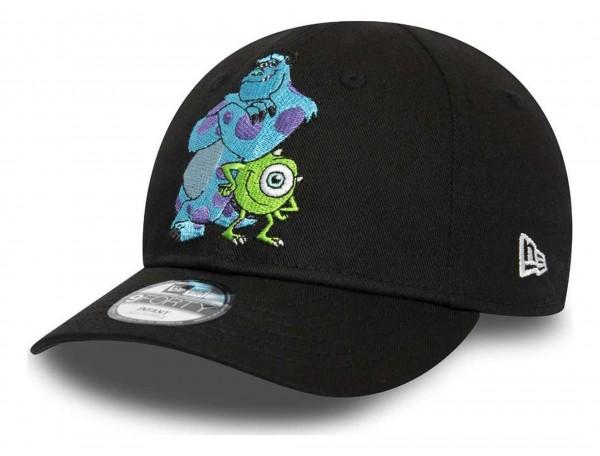 New Era - Disney Monsters, Inc. Character Face 9Forty Kids Strapback Cap - Schwarz Ansicht vorne schräg rechts