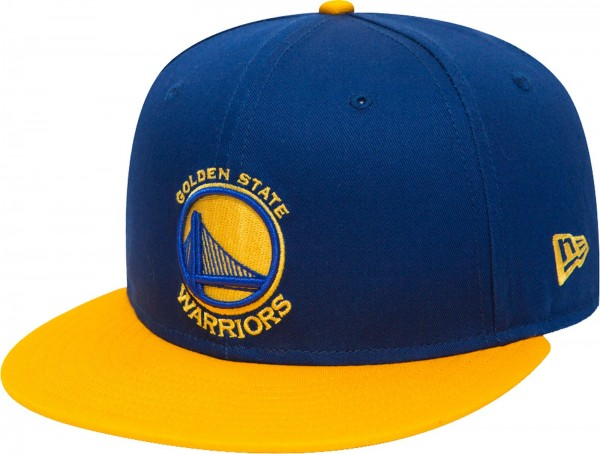 New Era - NBA Golden State Warriors 9Fifty Snapback Cap - blue-yellow