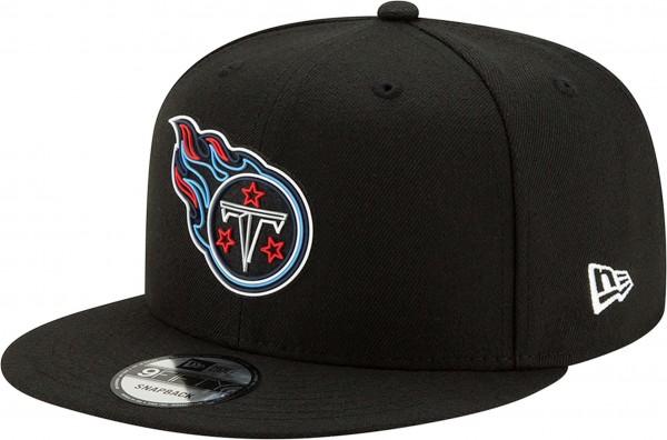 New Era - NFL Tennessee Titans 2020 Draft Official 9Fifty Snapback Cap - Schwarz Vorderansicht