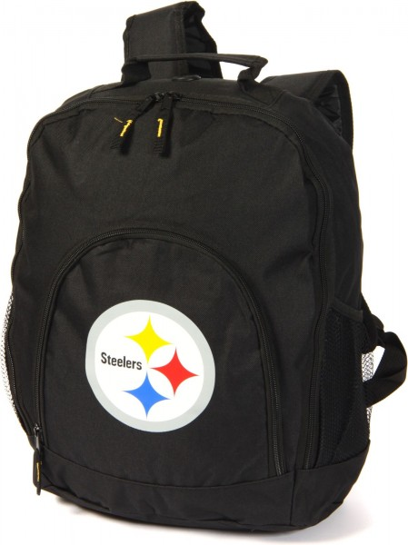 Forever Collectibles - NFL Pittsburgh Steelers Backpack Rucksack - black