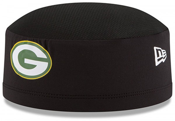New Era - NFL Green Bay Packers 2018 Official Training Skully Kappe - Schwarz