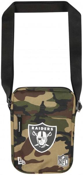 New Era - NFL Oakland Raiders Side Bag Tasche - Camouflage Vorderansicht