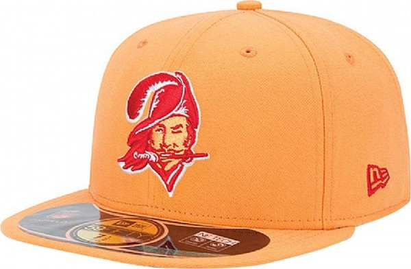 New Era - NFL Tampa Bay Buccaneers Authentic On-Field 59Fifty Cap - orange