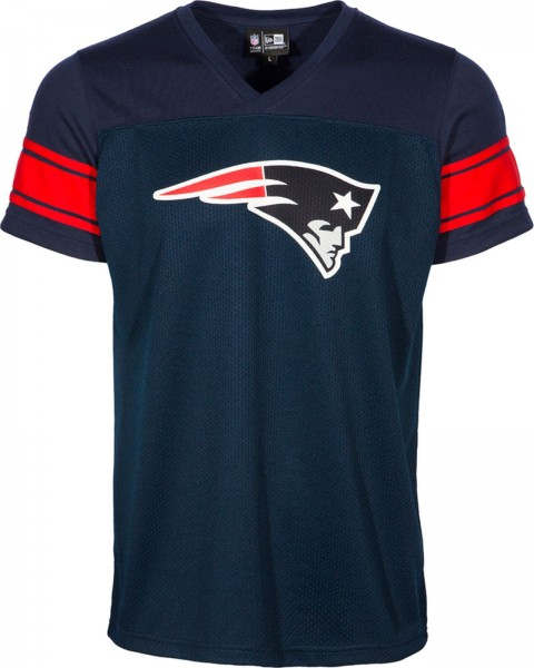 New Era - NFL New England Patriots Supporters Jersey - T-Shirt - navy