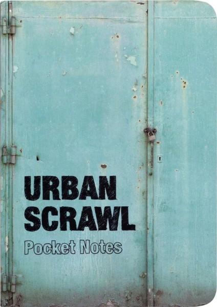 Publikat Publishing - Urban Scrawl Notebook Pocket Notes Buch