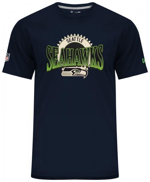 New Era - NFL Seattle Seahawks Fan Pack T-Shirt - navy