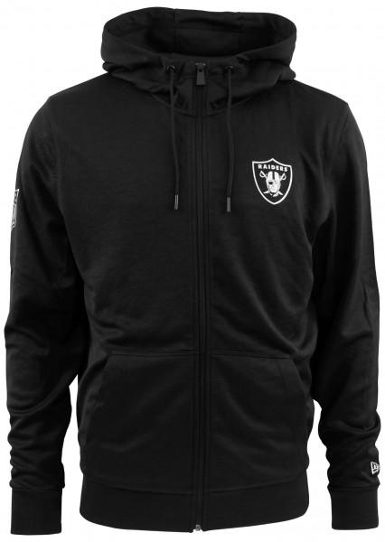 New Era - NFL Oakland Raiders Pop Hoodie - Schwarz Vorderansicht