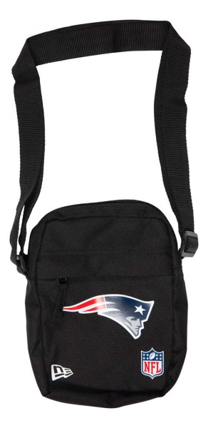 New Era - NFL New England Patriots Side Bag Tasche - Schwarz Vorderansicht
