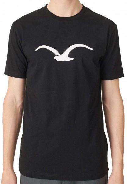 Cleptomanicx - Mowe Basic T-Shirt - Schwarz Vorderansicht