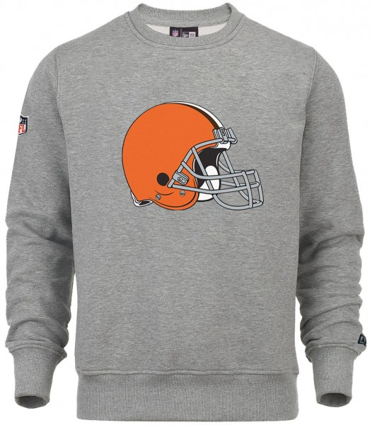 New Era - NFL Cleveland Browns Team Logo Sweatshirt - grey