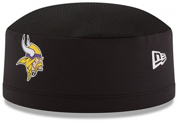 New Era - NFL Minnesota Vikings 2018 Official Training Skully Kappe - Schwarz