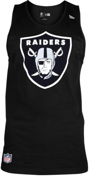 New Era - NFL Oakland Raiders Team Apparel Logo Tank Top - black