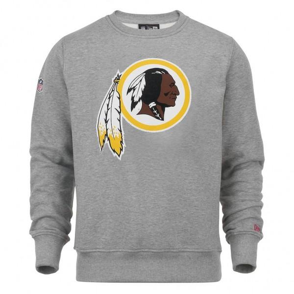New Era - NFL Washington Redskins Team Logo Sweatshirt - grey