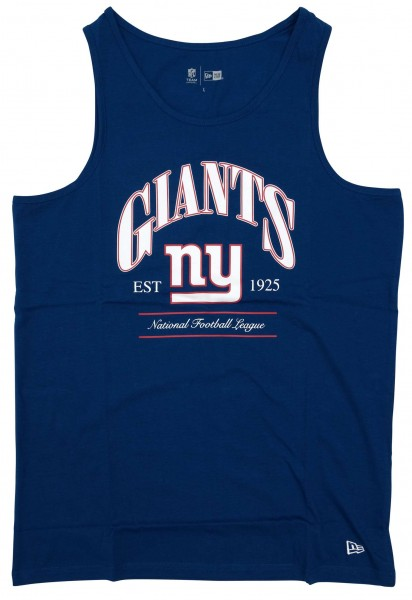 New Era - NFL New York Giants Team Established Tank Top - Blau Vorderansicht