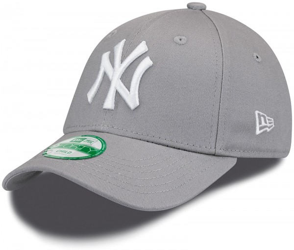 New Era - MLB New York Yankees Essential Kids 9Forty Cap - Grau