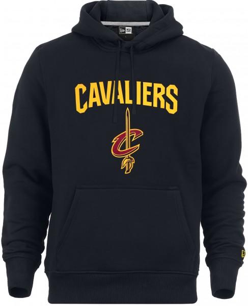New Era - NBA Cleveland Cavaliers Team Logo Hoodie - Blau