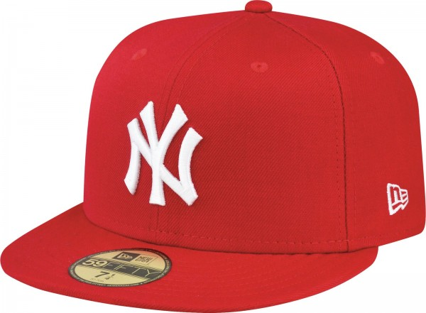 New Era - MLB New York Yankees Essential 59Fifty Cap - scarlet red