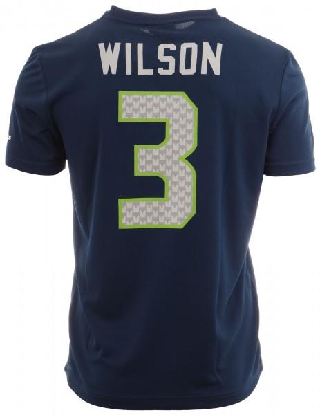 Majestic Athletic - NFL Seattle Seahawks Wilson #3 N&N Jersey Shirt - navy