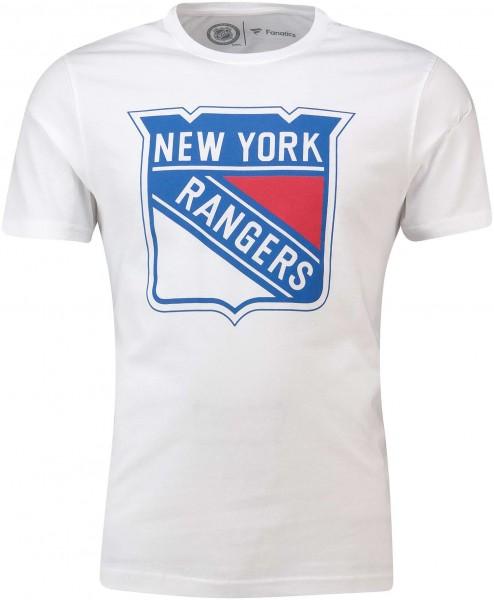 Fanatics - NHL New York Rangers Secondary Core Graphic T-Shirt - Weiß Vorderansicht