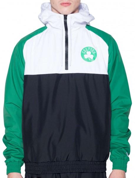 New Era - NBA Boston Celtics Hooded Windbreaker Jacke - Mehrfarbig Vorderansicht