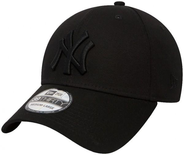 New Era - MLB New York Yankees Essential 39Thirty Cap - Schwarz-Schwarz