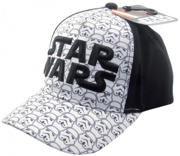 Disney - Star Wars Stormtrooper Kids Snapback Cap - Schwarz