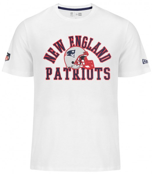 New Era - NFL New England Patriots College T-Shirt - white