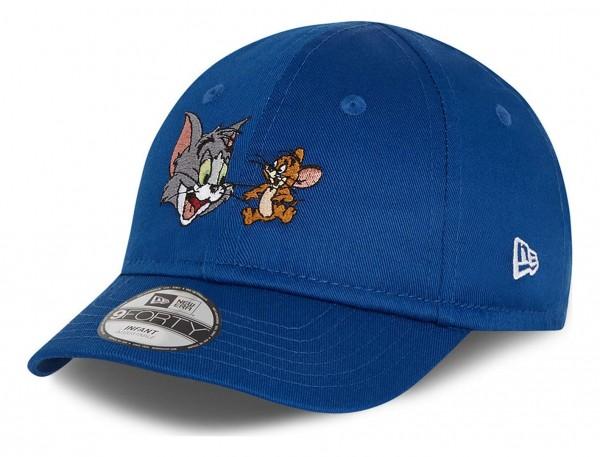 New Era - Tom and Jerry Film Character 9Forty Infant Strapback Cap - Blau Ansicht vorne schräg links