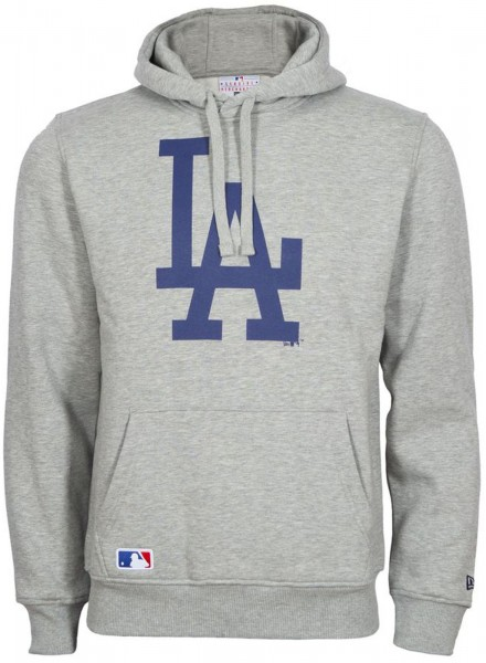 New Era - MLB Los Angeles Dodgers Team Logo Hoodie - grey