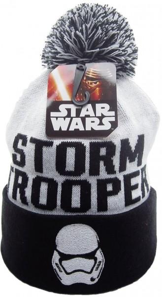 Disney - Star Wars - The Force Awakens Stormtrooper Bobble - Beanie