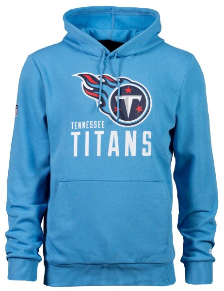 New Era - NFL Tennessee Titans Team Logo and Name Hoodie - Titans Blau
