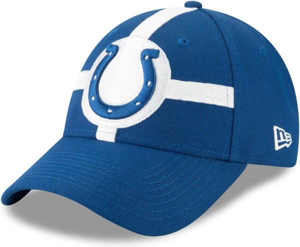 New Era - NFL Indiana Colts Draft 2019 On-Stage 9Forty Strapback Cap - Blau Ansicht schräg links