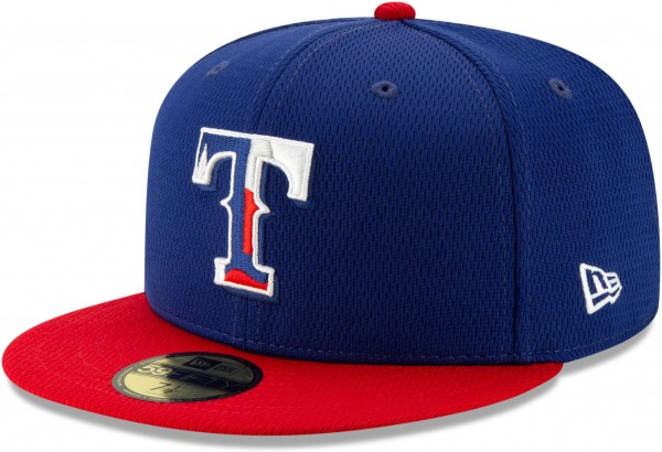 New Era - MLB Texas Rangers Properties 59Fifty Fitted Cap - Blau Ansicht vorne links
