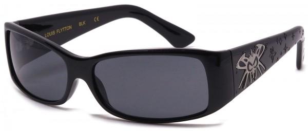 Black Flys - Louis Flytton - Sonnenbrille - Schwarz glänzend