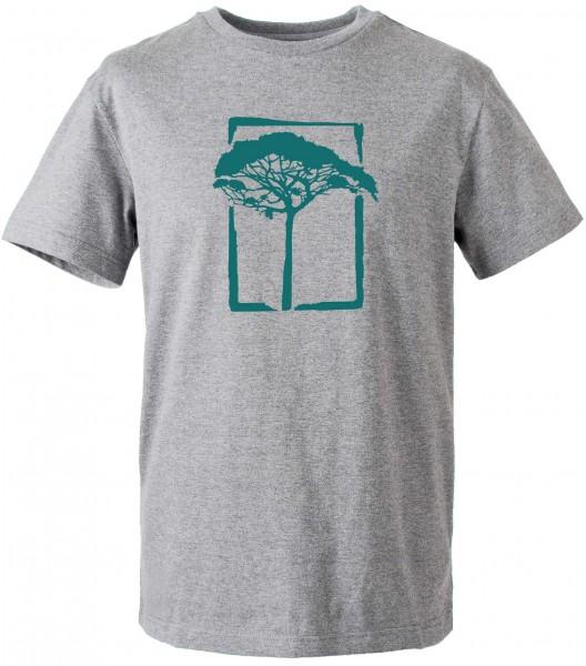 Mahagony - T.O.L. T-Shirt - Grau Vorderansicht