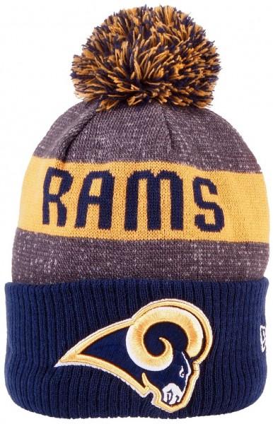 New Era - NFL Los Angeles Rams Sideline Bobble Beanie