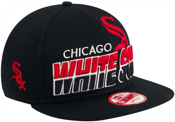 New Era - MLB Chicago White Sox Team Horizon 9Fifty Snapback Cap - Schwarz