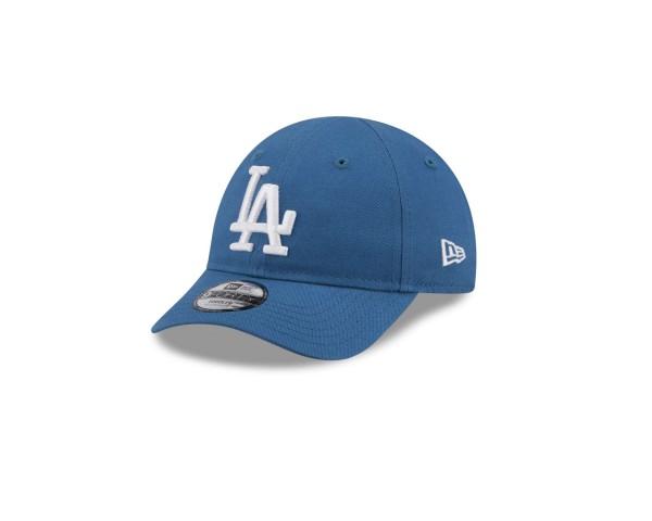 New Era - MLB Los Angeles Dodgers League Essential 9Forty Kids Strapback Cap - Blau Ansicht vorne schräg links
