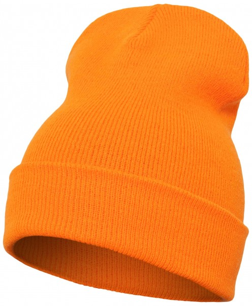 Yupoong Heavy Knit Cuffed Beanie - blaze orange