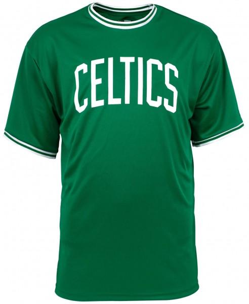 New Era - NBA Boston Celtics Tipping Wordmark T-Shirt - Grün Vorderansicht