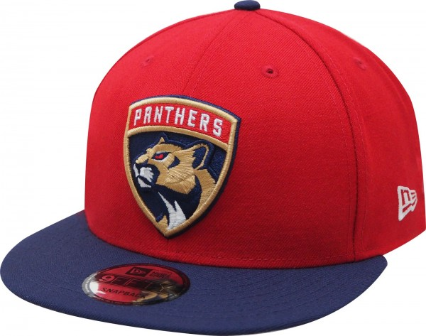 New Era - NHL Florida Phanters 9Fifty Snapback Cap - red-navy