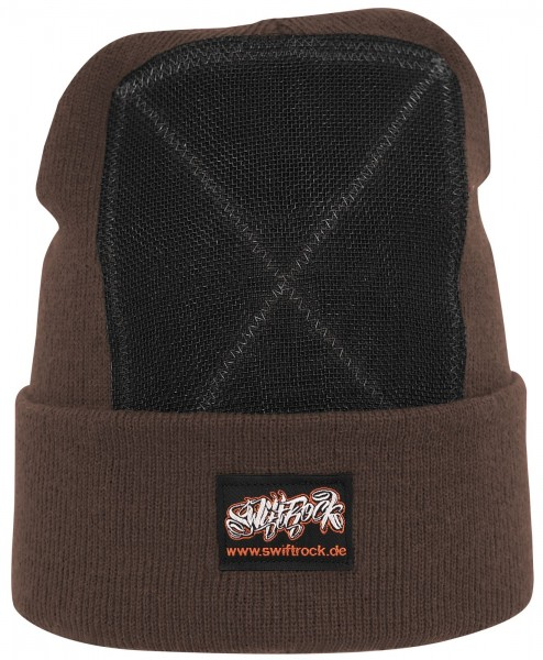 SR Rocking Gear - Swift Rock Classic Headspin Beanie - Braun