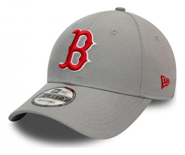 New Era - MLB Boston Red Sox Pop Logo 9Forty Strapback Cap - Beige Ansicht vorne schräg links