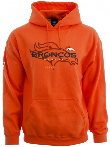 Majestic Athletic - NFL Denver Broncos Great Value Hoodie - orange