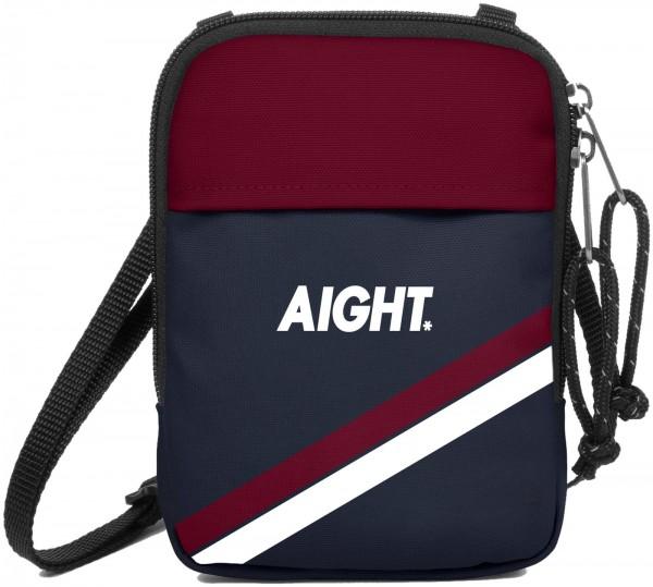 Aight* - Stuff Holder JR Bag Tasche - Navy Maroon Ansicht Vorderseite