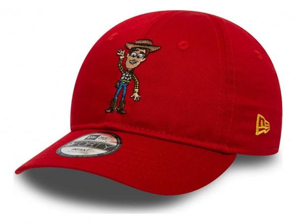 New Era - Disney Toy Story Small Logo Woody 9Forty Infant Strapback Cap - Rot Ansicht vorne schräg links